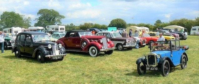 veteran, vintage and classic cars